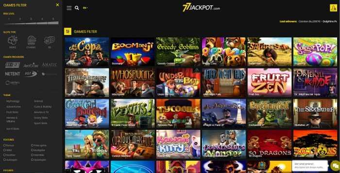 77Jackpot Games