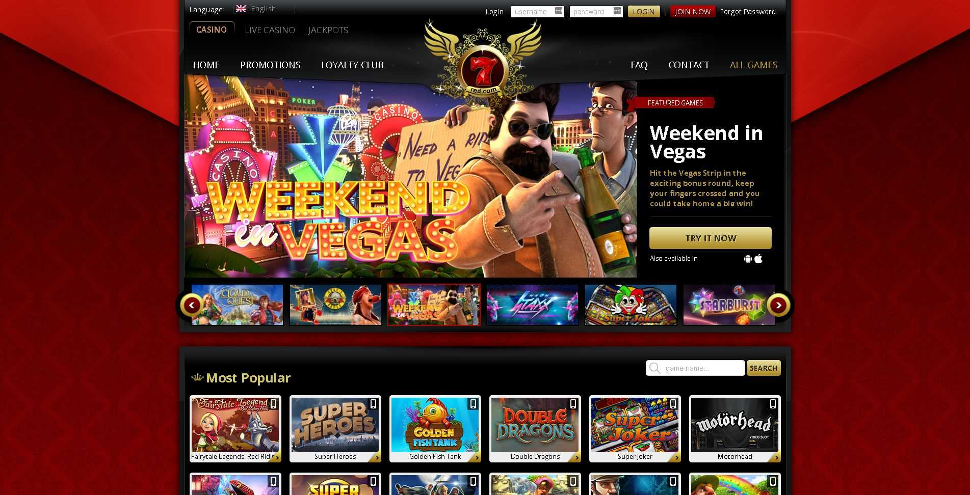 7Red Casino Games