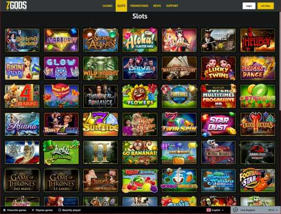 7 Gods Casino Slots