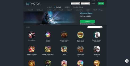 BetVictor Games