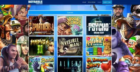 Betreels Casino Games
