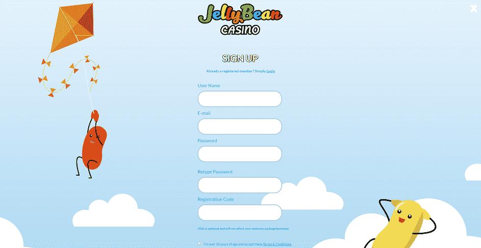 Jellybean Register