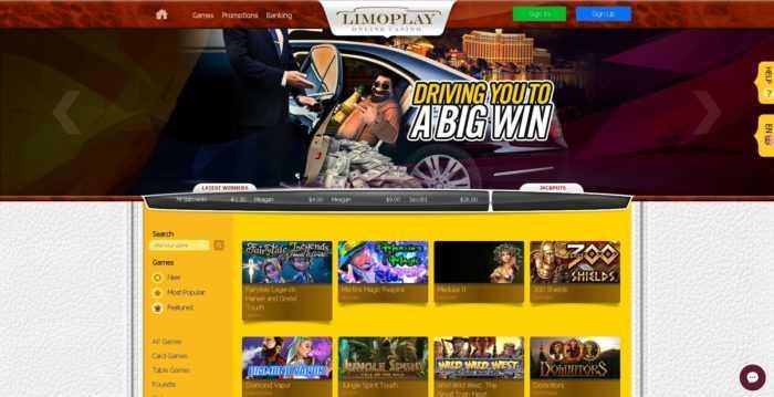 Limoplay Homepage