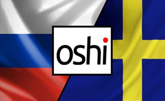 Oshi News Russian and Swedish site