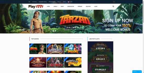 Play 7777 Homepage