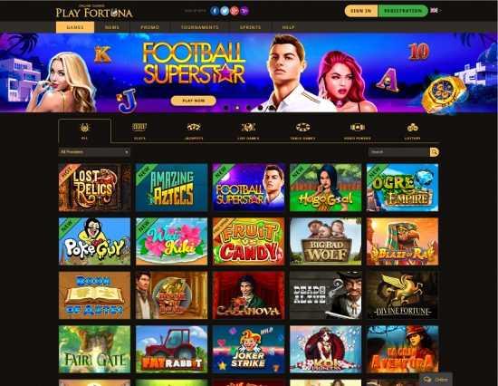 Play Fortuna Homepage