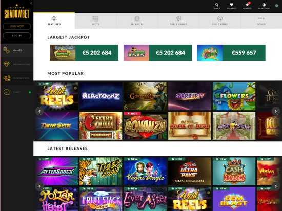 Shadow Bet Games