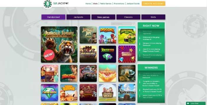 Sir Jackpot Games