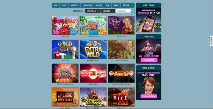 Slots Cafe Games