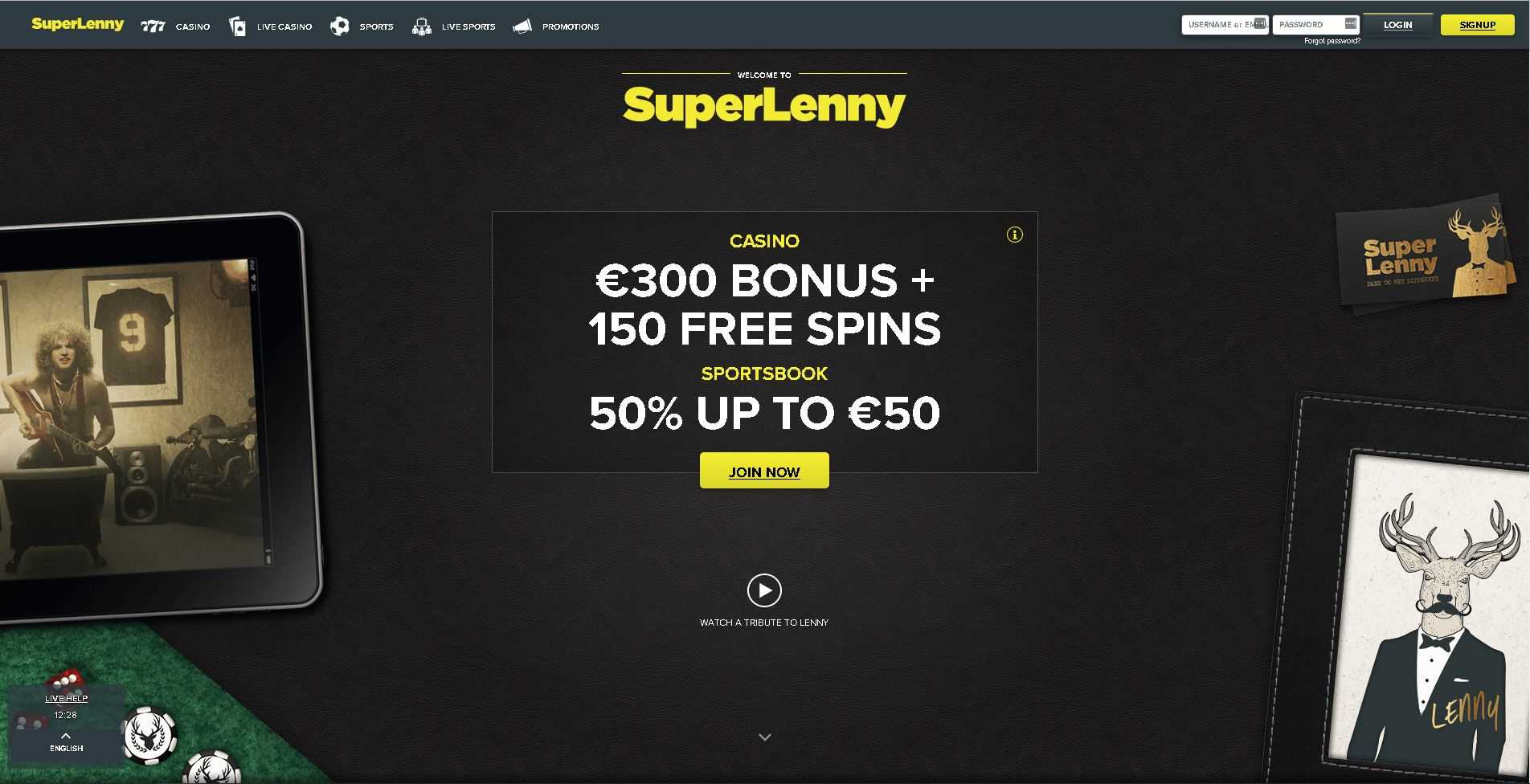 Superlenny Home