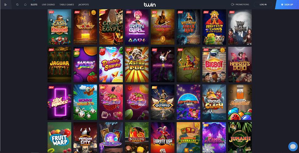 Twin Casino Games