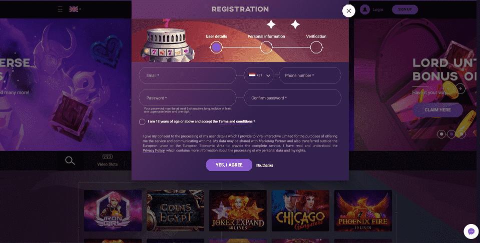 Untoldcasino Register