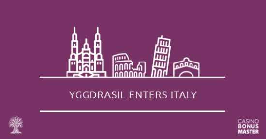 Yggdrasil enters Italy
