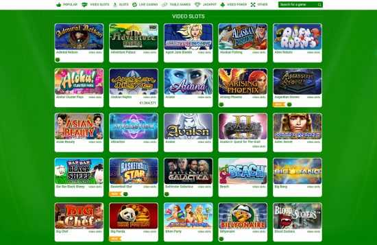 All Irish Casino Games