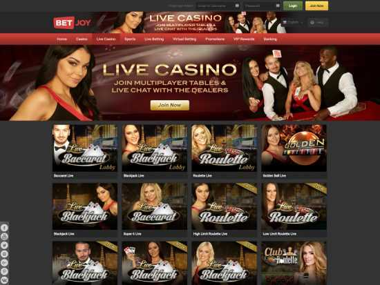 Betjoy Live Casino