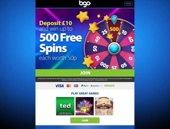 BGO Homepage