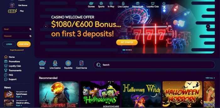 Casino360 Homepage