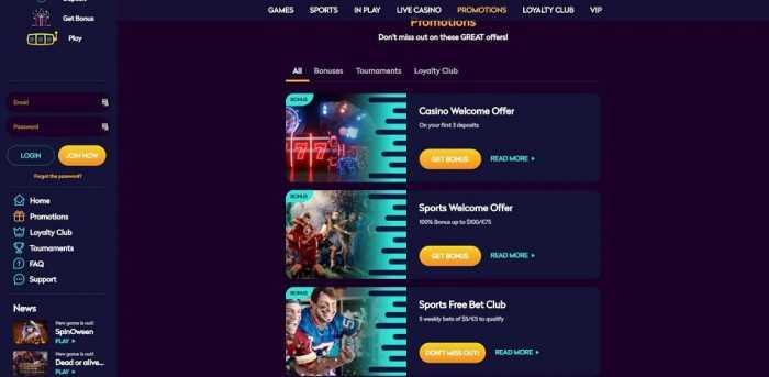 Casino360 Promotions