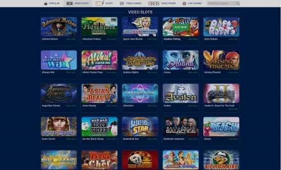 Casino Casino Games