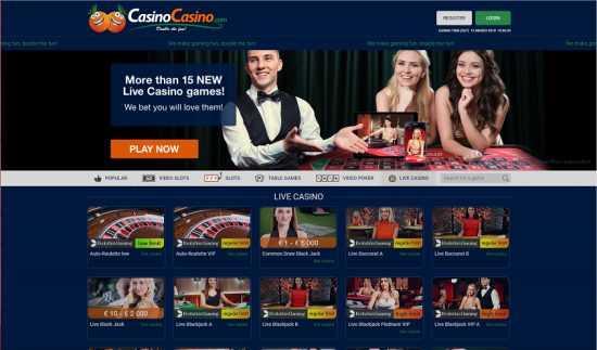 Casino Casino Homepage