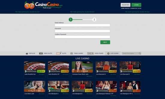 Casino Casino Register