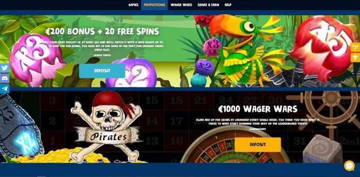 Casinodeb Homepage