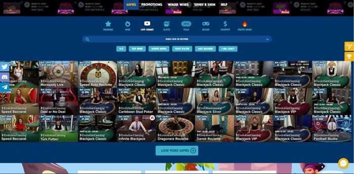 Casinodeb Live Casino