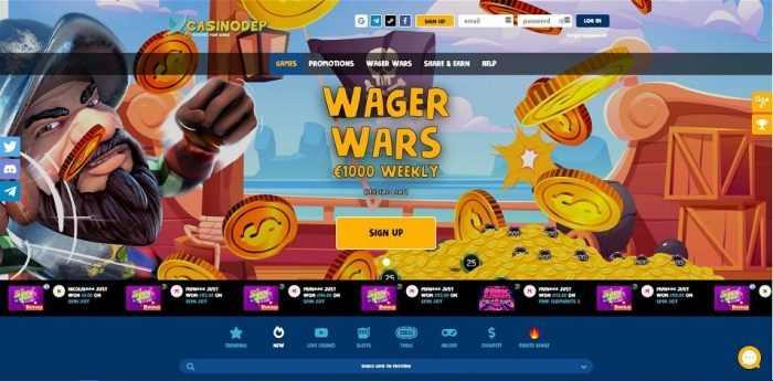 Casinodeb Wager