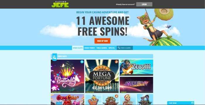 CasinoJEFE Games