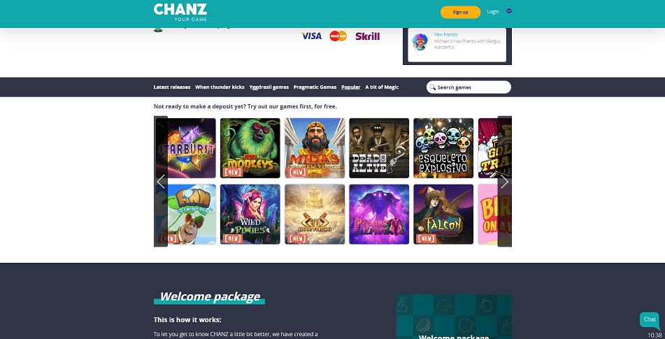 Chanz Games