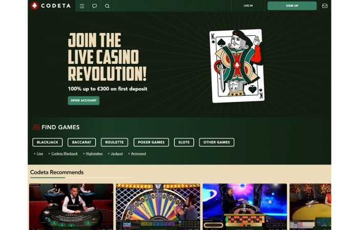 Codeta Homepage