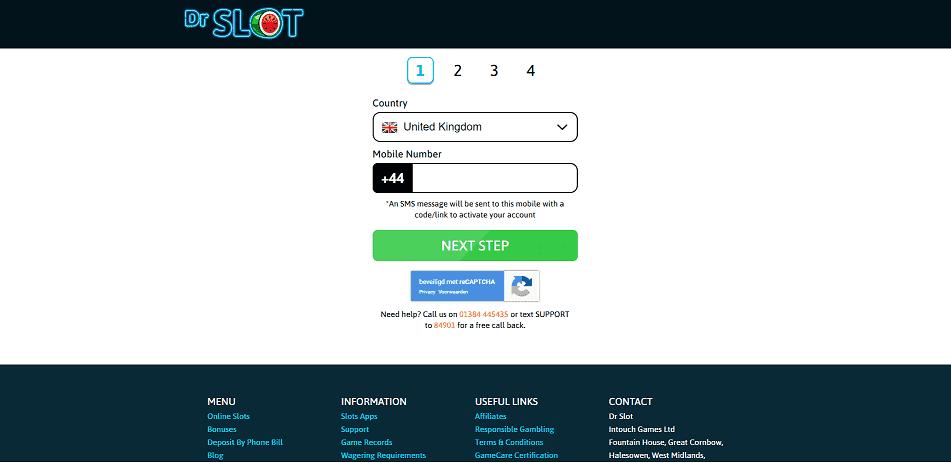 DrSlot Register