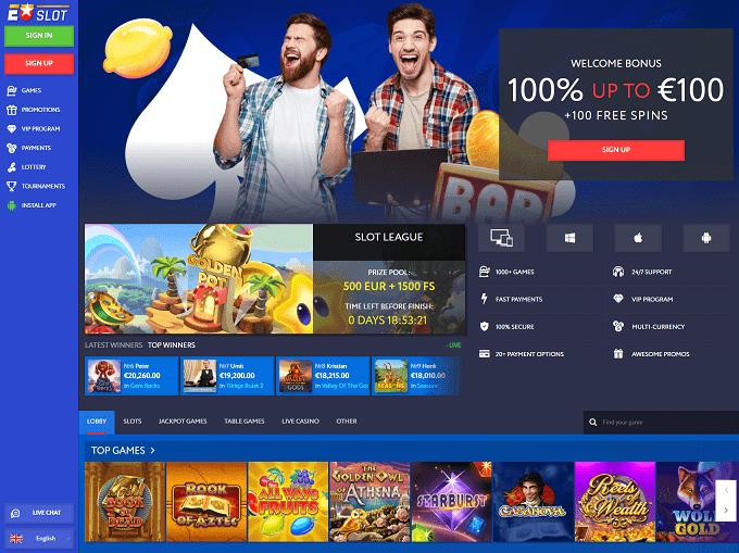 Eu Slot Homepage