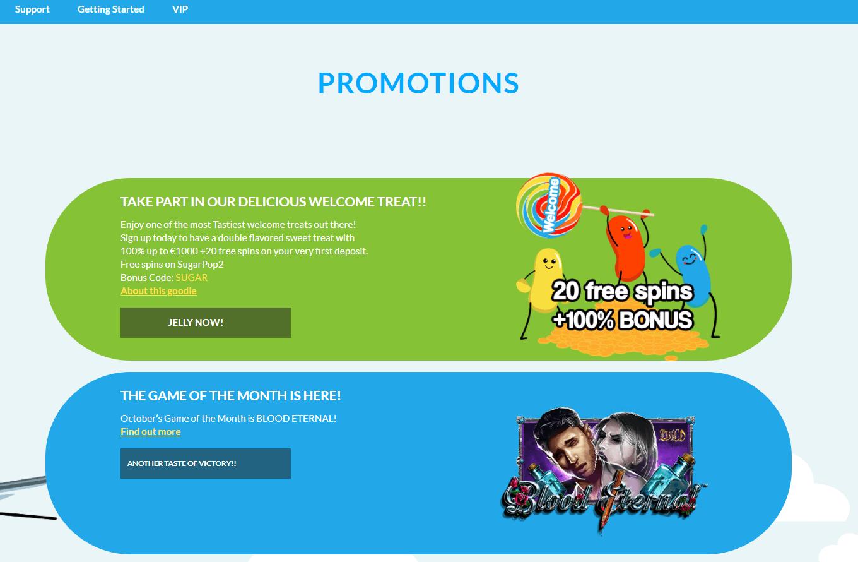 Jellybean Casino Promotions