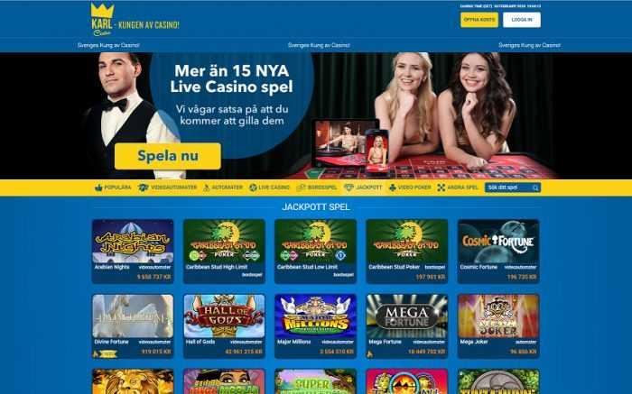 Karl Casino Jackpots