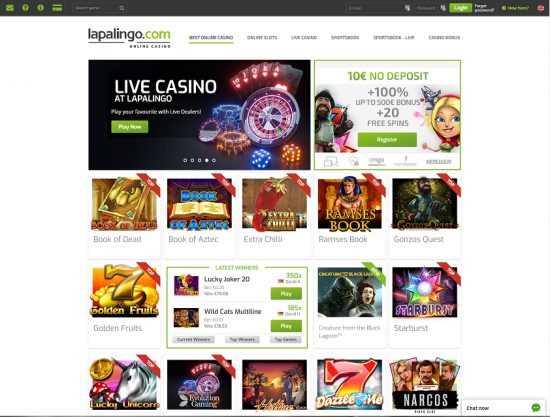 Lapalingo Homepage