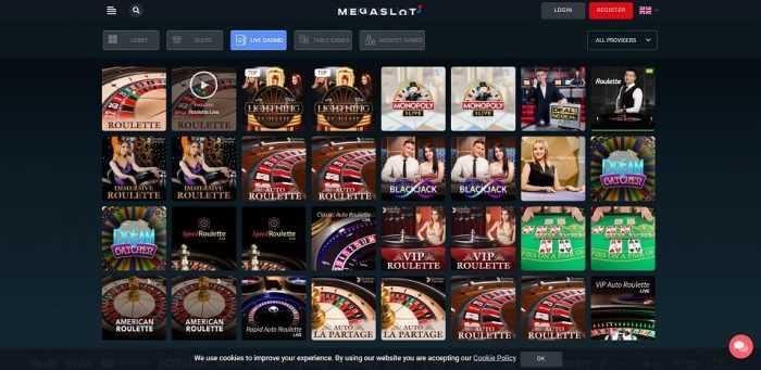 Megaslots Live Casino