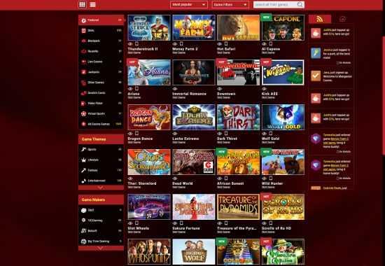 Mongoose Casino Games