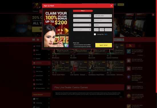 Mongoose Casino Register