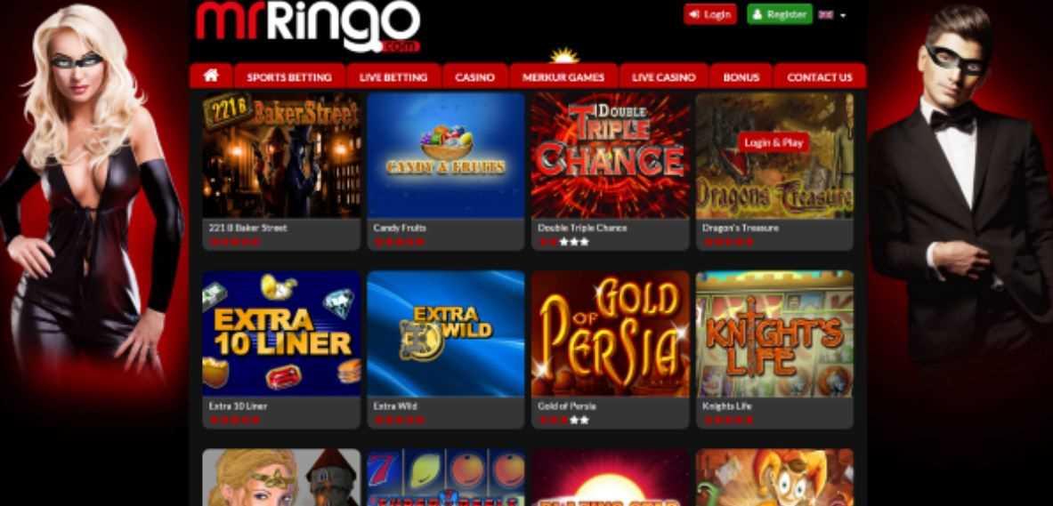 Mr Ringo Homepage