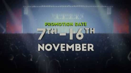 NetEnt November Promotion Date