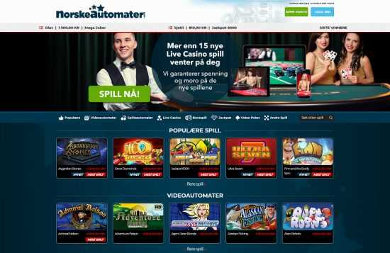 Norskeautomater Homepage