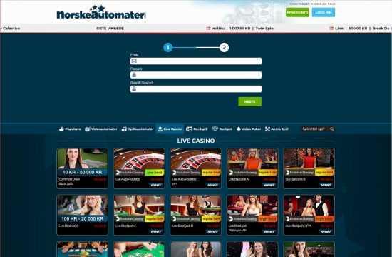 Norskeautomater Register