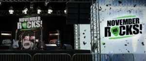 November Rocks NetEnt on Stage
