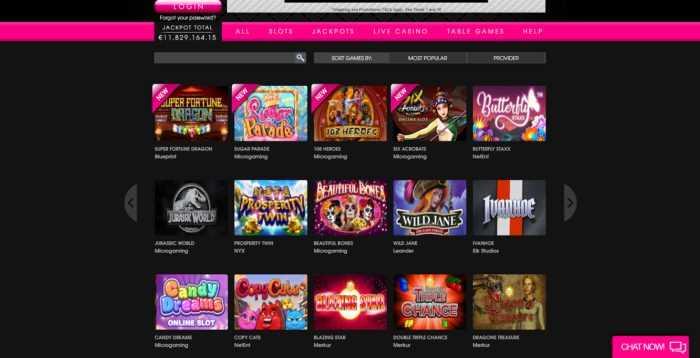 PlayGrand Casino Games