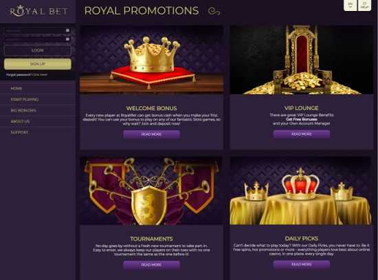 Royal Bet Promotions