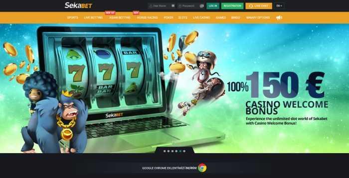 Sekabet Homepage