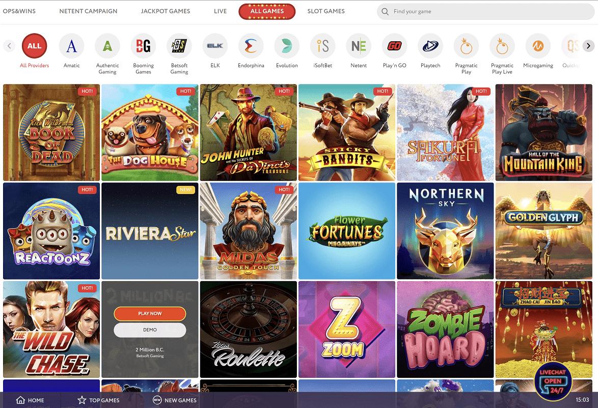 Slot Wolf Casino Games
