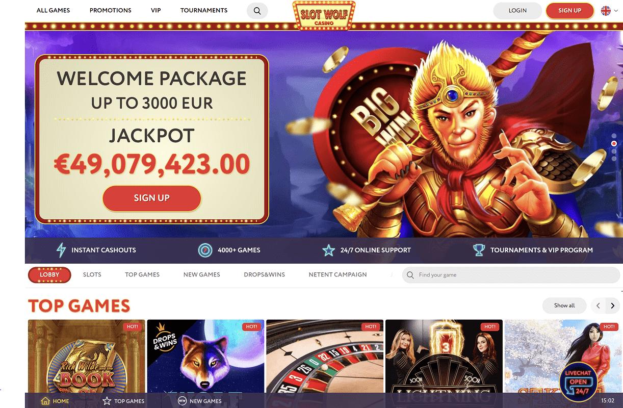 Slot Wolf Casino Home