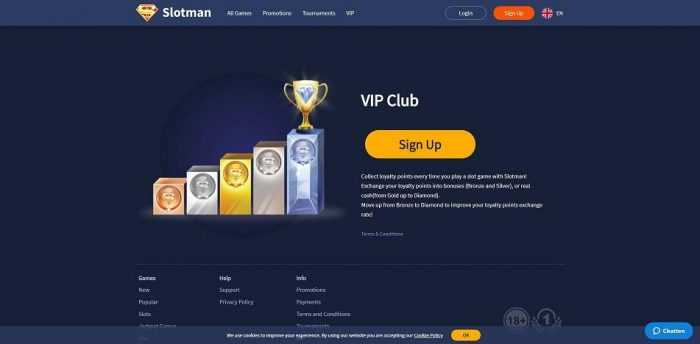 Slotman Casino Vip